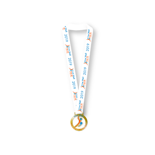 Medal for Live Well 5k