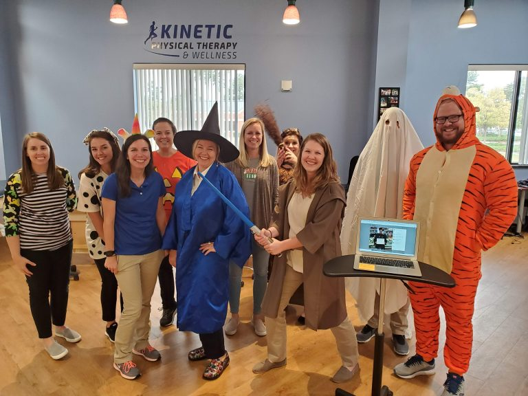 Kinetic Physical Therapy Halloween 2019