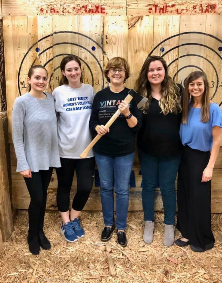 Axe Throwing at Stumpy's