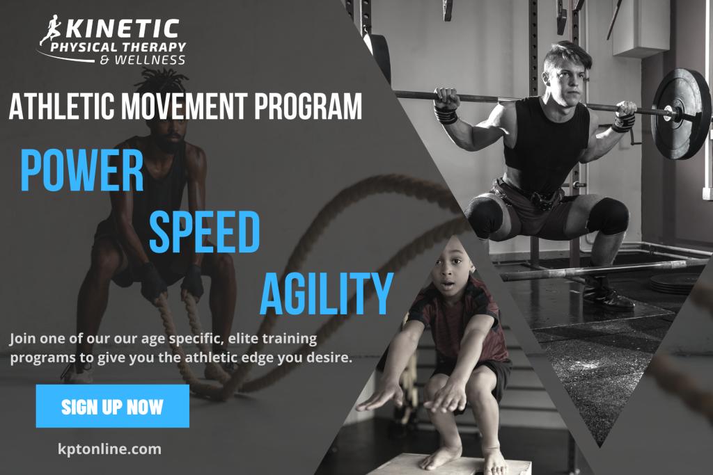 Athletic Movement Program Postcard